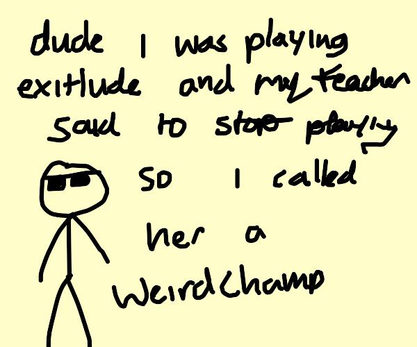 Gamer speak