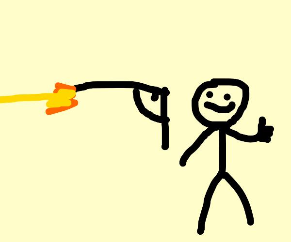 photo-accurate gun, very well-drawn