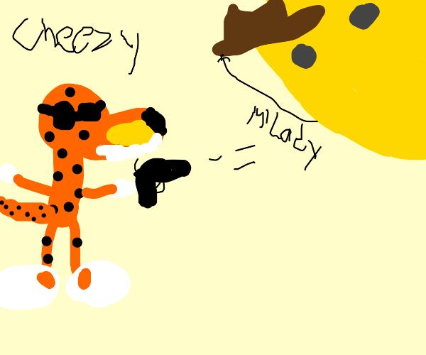 Kaiju Cheetah fights the Incel Sun