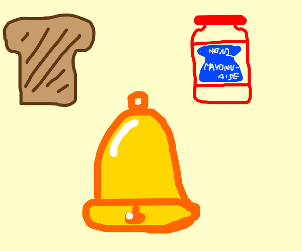 Bread, Mayo and bell
