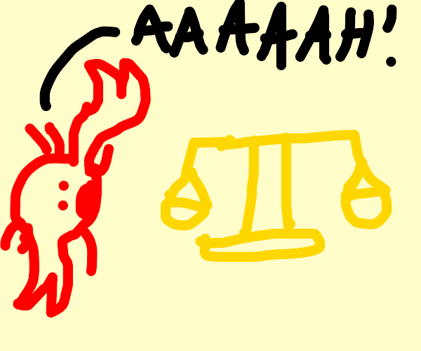 Crab screams in Horror at a scale