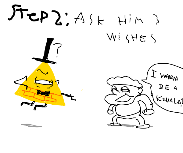 Step One: Summon Bill Cipher