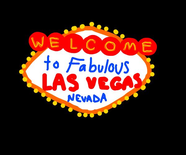 New Vegas Billboard