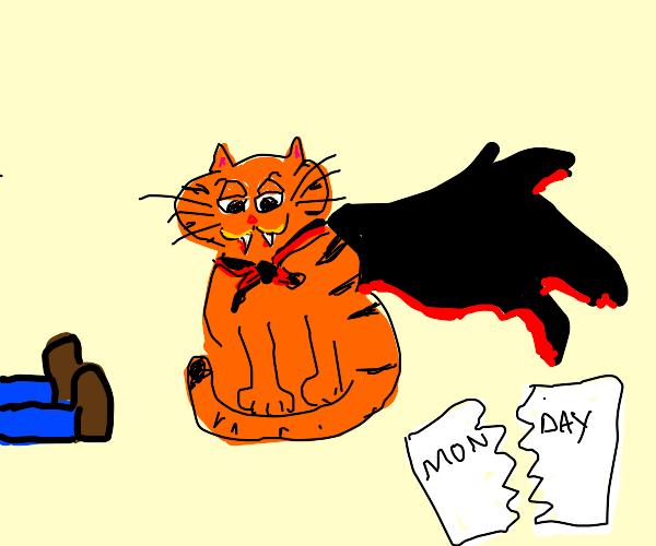 Garfield but a monster