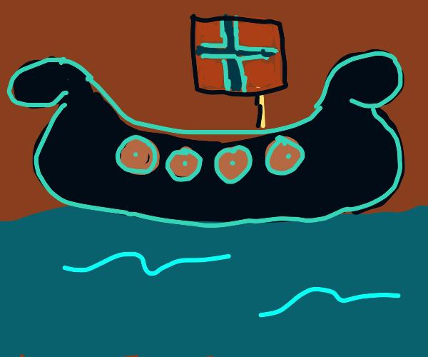 Norwegian Longboat