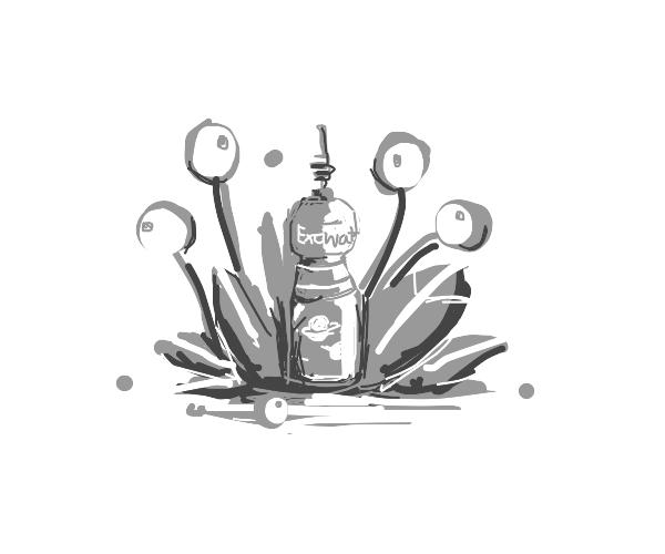 Bottle from an Alien Planet