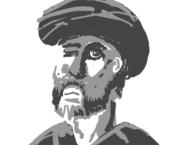 one eyed shiah muslim man