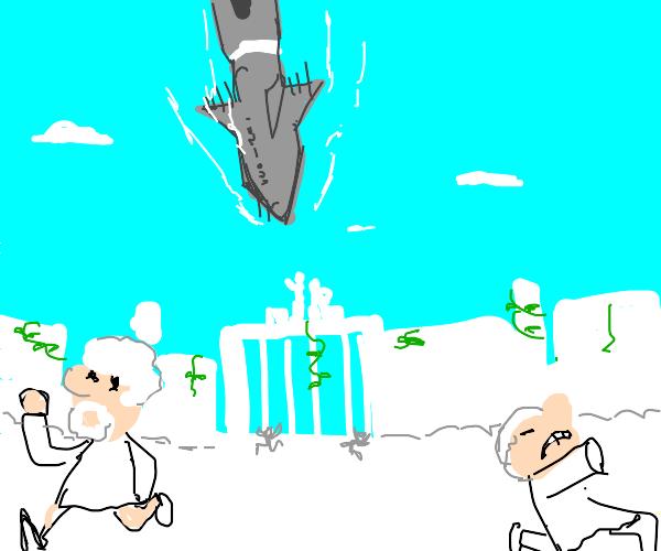 Nuking the heavens