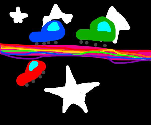 rainbow road but for pedestrians