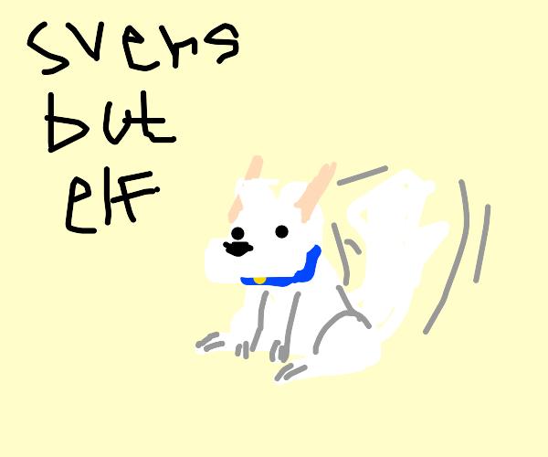 Svens as an elf