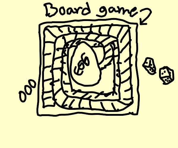 Egg Board Game