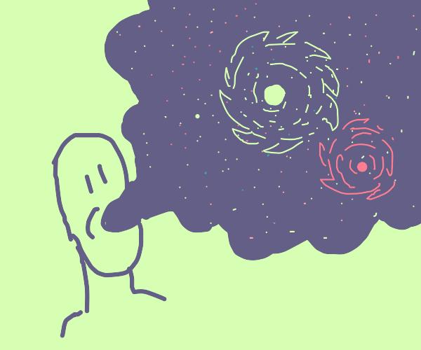 porfo inhales the universe