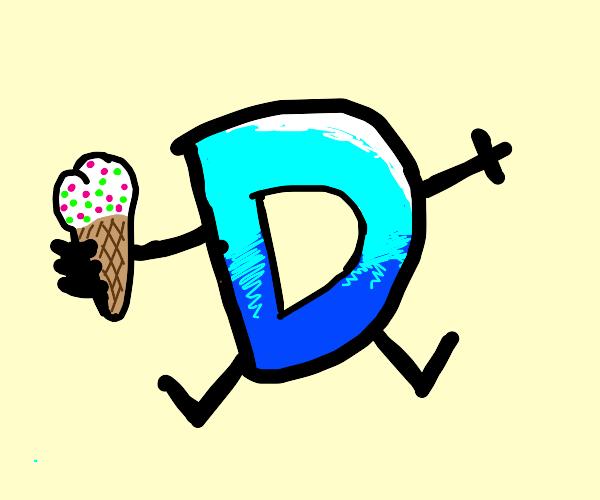 D with Ice Cream