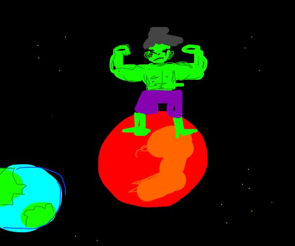 Hulk on Mars