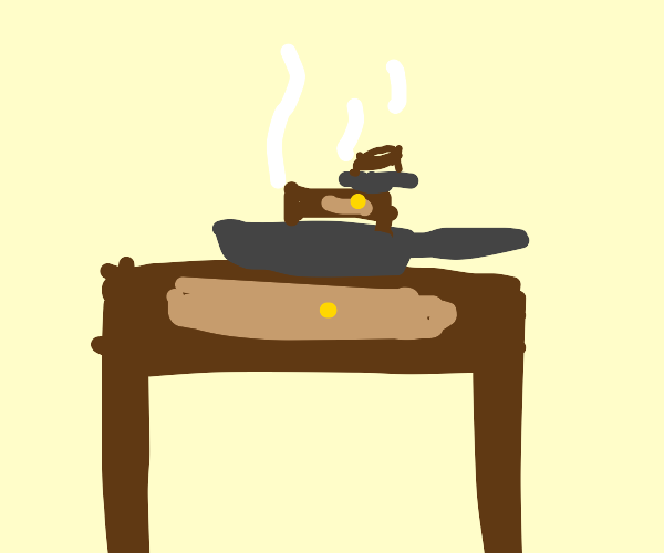 Cooking with a Desk