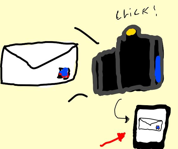 Letter Photo