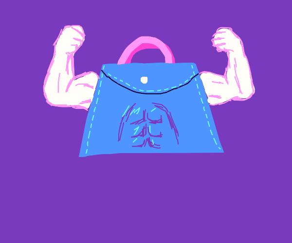 handbag with some nice abs
