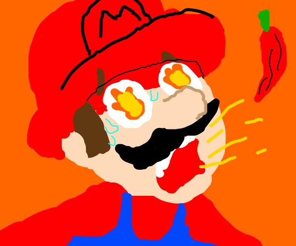 Spicy Mario