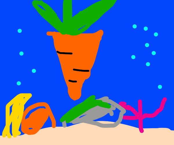 Underwater Carrot