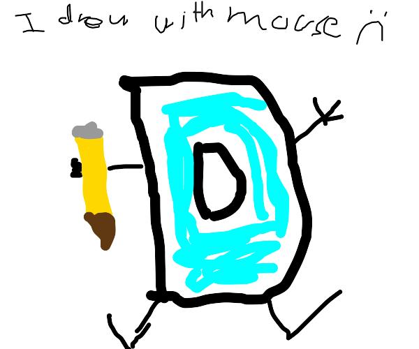 drawception mascot