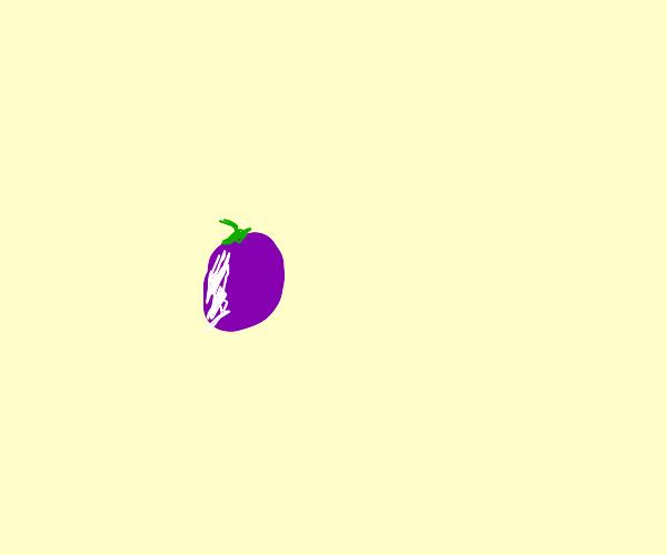 1 singular piece of grape