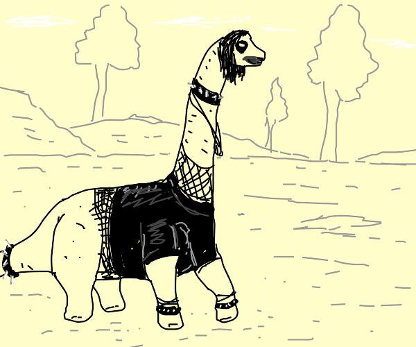 Goth Brachiosaurus