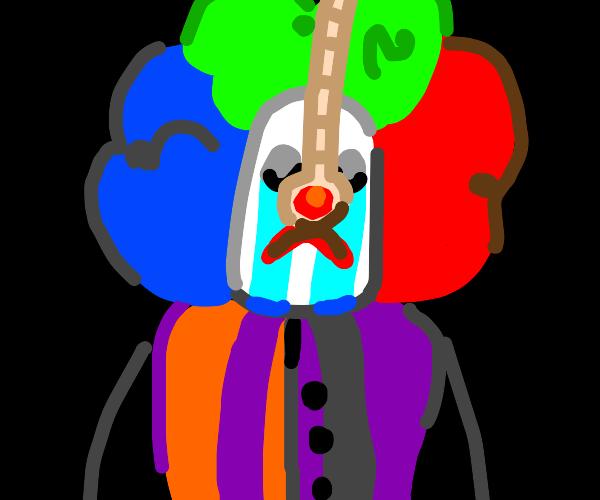 Clown nose suicide
