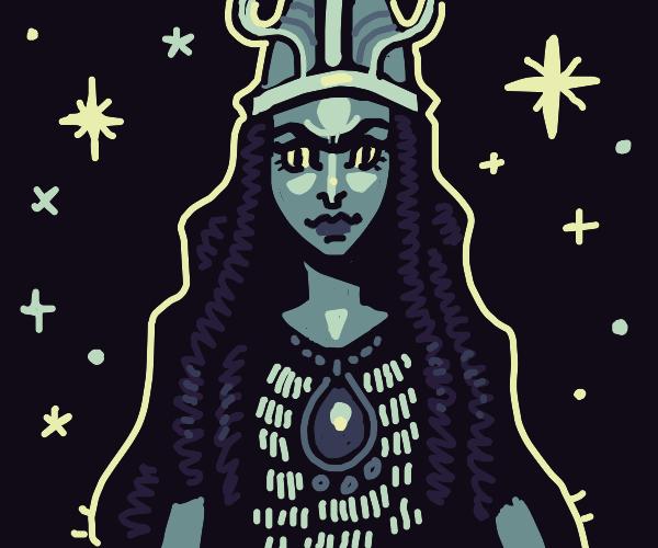 badass woman viking warrior
