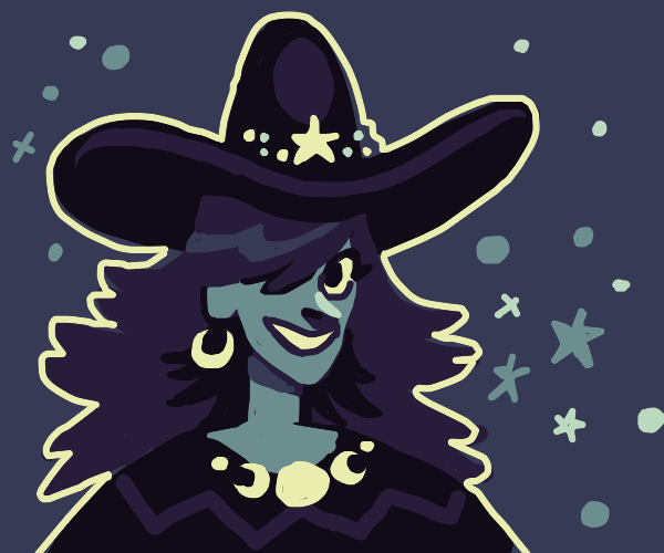 witchy goth gf