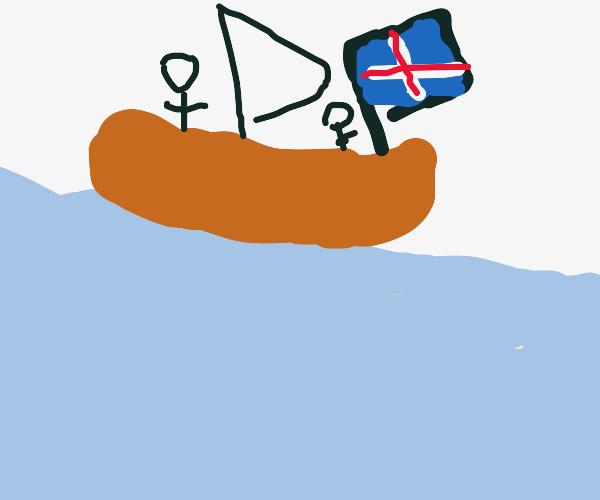 Icelandic Sailing Ship