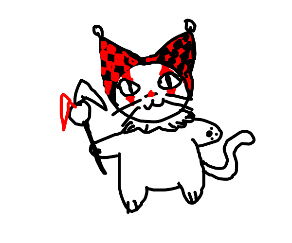 cat harlequin