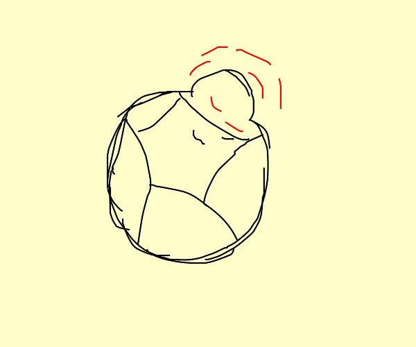 Bloated Soccer Ball