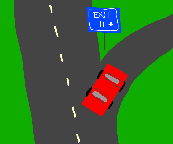 Turn right onto Exit 11