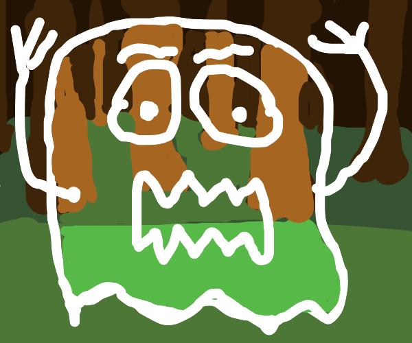 transparent ghost