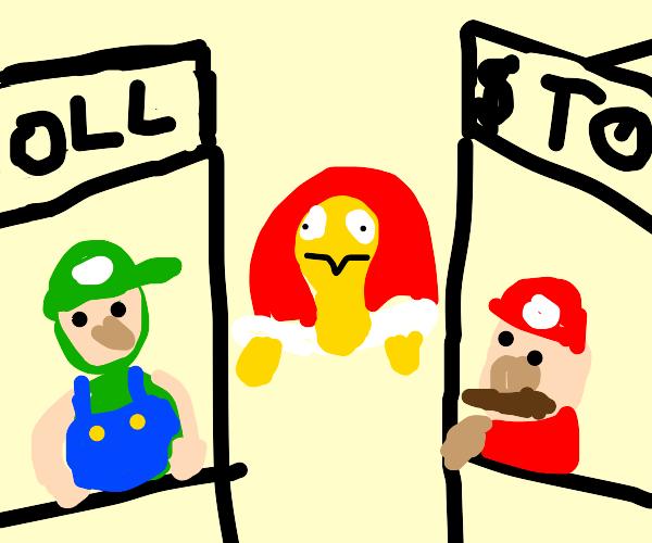 Mario & Luigi: Toll Booths