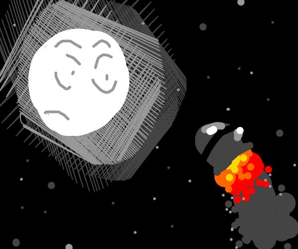 The moon is toast