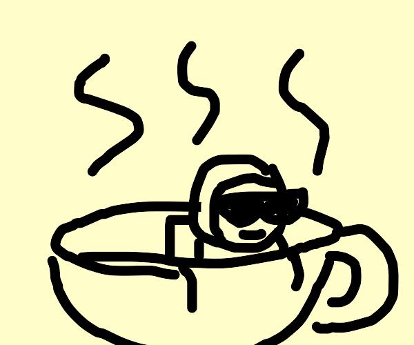 Astronaut in a Teacup
