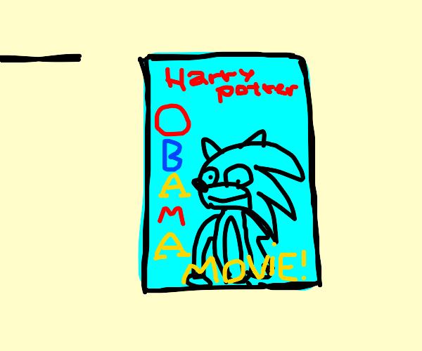 Ripoff Sonic the Hedgehog movie flyer