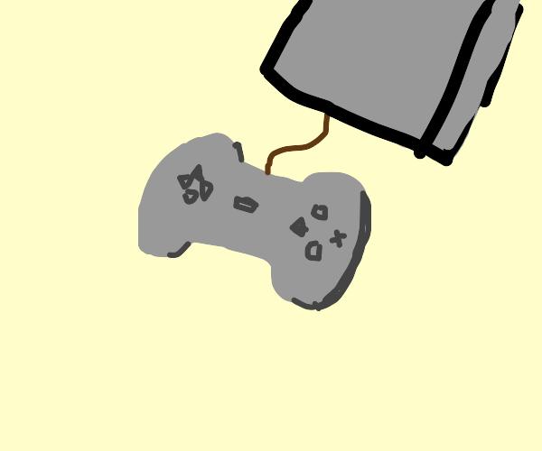 Stone-age videogame console
