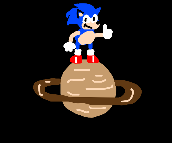 Sonic on Saturn (I see what you did there)