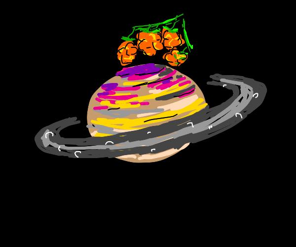 Cloudberry on Saturn