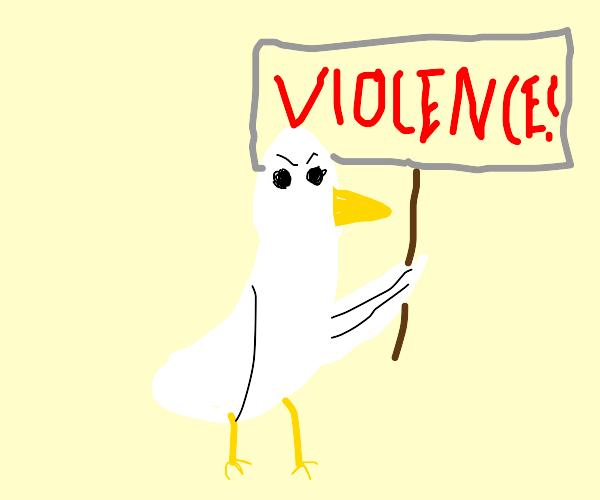 Protest Chicken