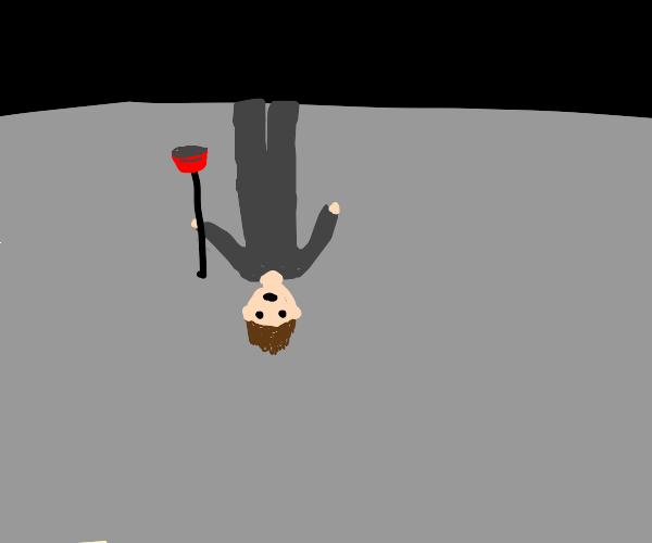 Upside down Plumber