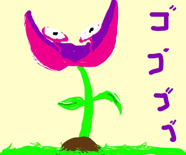 Menacing flower
