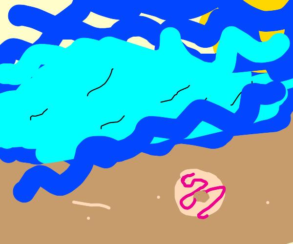 Donut Lost at Sea