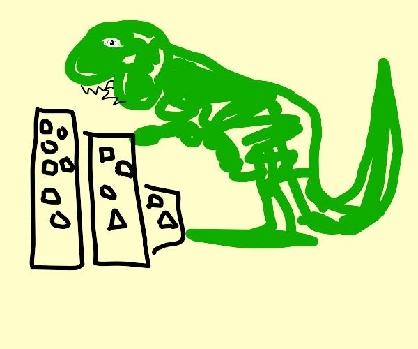 Colossal Godzilla