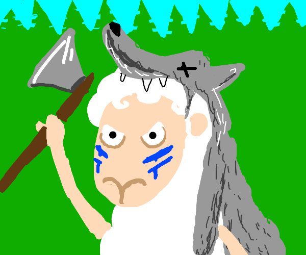 Sheep with a wolf skin