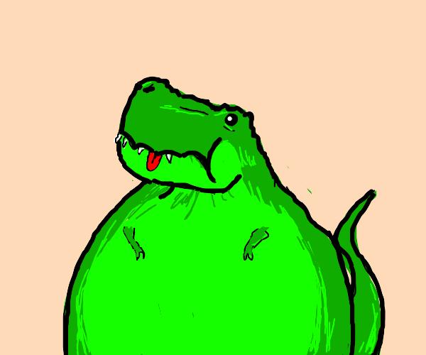 Plump Dinosaur