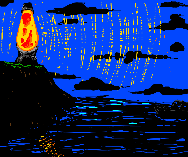Lava Lamp Lighthouse