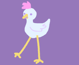tall ass chicken